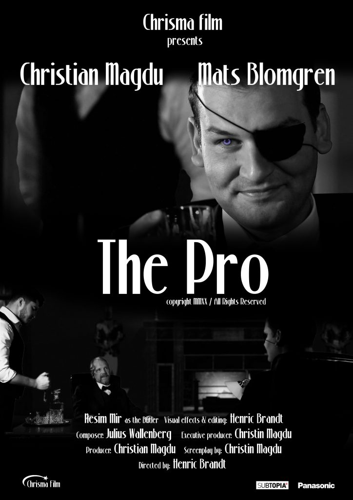 The Pro (2020) A film by Henric Brandt, written by Christin Magdu, Starring Christian Magdu and Mats Blomgren